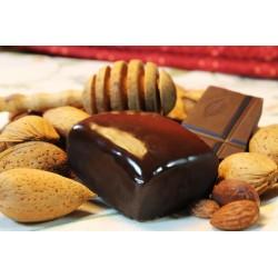 Mantecados de Almendra cubiertos con Chocolate